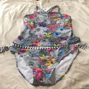 NWT Jessica Simpson 2pc tankini swimsuit